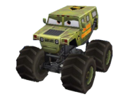 Monster TruckCaptainCollision