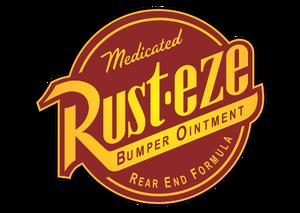 Pixar-Cars-Rusteze-logo-vector