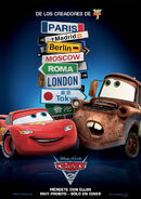 Cars-2 Latin American Poster