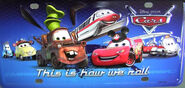 New Characters on a Cars 2 Plate!!!!!!
