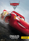 Cars-3 Hungarian Poster -2