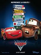 Cars-2 Frech Poster