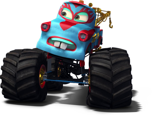 Image Monster Truck Mater Martin Tow Mater Png World Of Cars