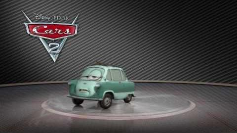 "Cars 2 Turntable ""Professor Z"""