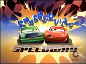 Smashervile Speedway loading screen.