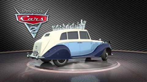 CARS 2 - The Queen
