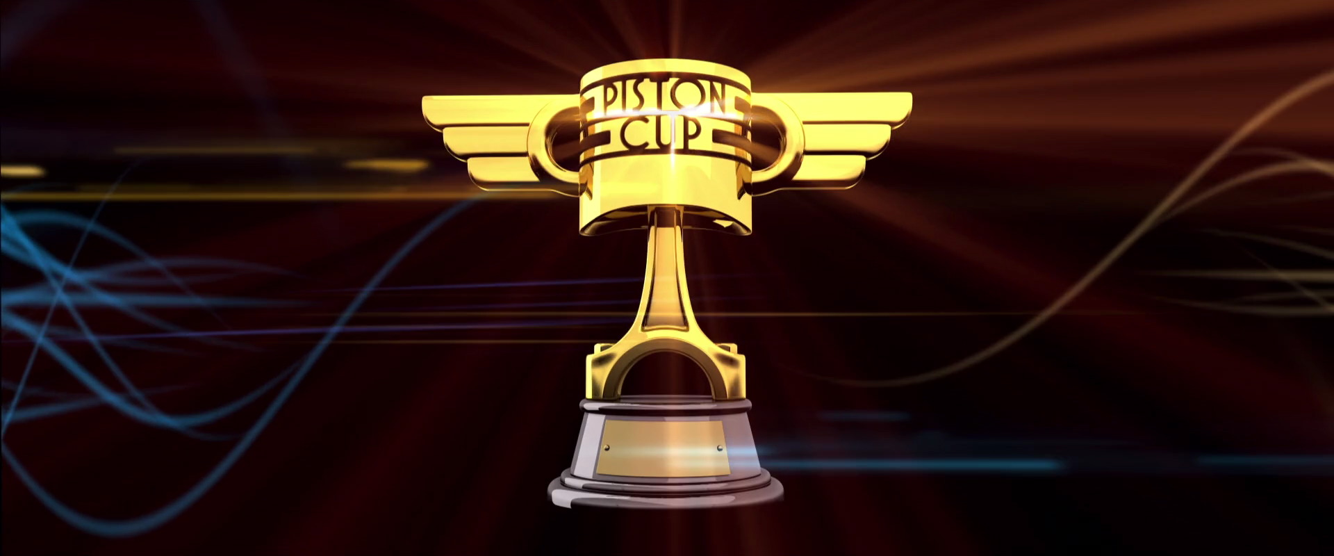 Piston Cup Trophy World Of Cars Wiki FANDOM Powered By Wikia - Piston car show trophies