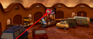Todd's first cameo in Cars 2
