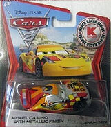 Miguel camino with metallic finish silver cars 2 kmart