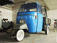 Piaggio APE P501 photo 2