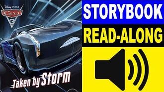 Cars 3 Read Along Story book Cars 3 - Taken by Storm Read Aloud Story Books for Kids
