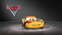 """Cars 2 Turntable """"Miguel Camino""""-1"""
