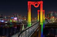 Rainbow bridge cars 2