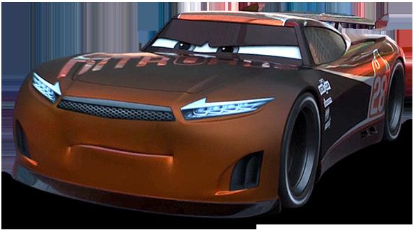 Lewis Hamilton Cars 3 Scene