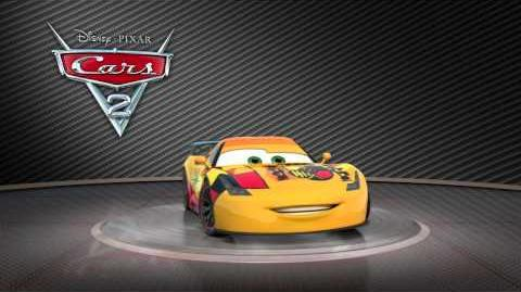 """Cars 2 Turntable """"Miguel Camino""""-0"""