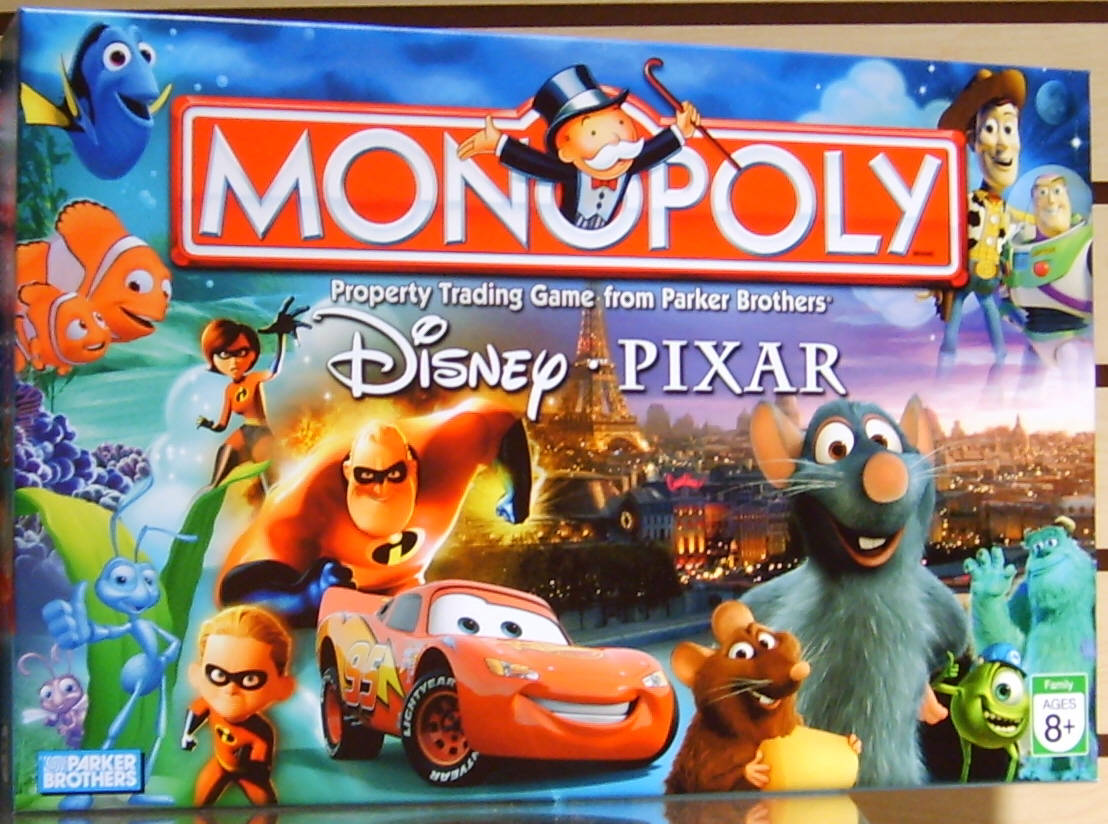 Cars Monopoly Game Walmart