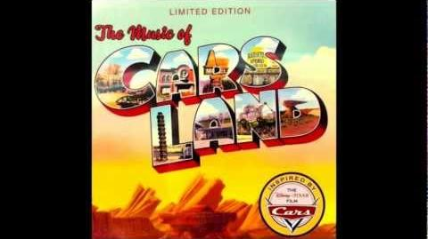 """The Music of Cars Land """"Radiator Springs Racers Attraction Ride Through"""""""