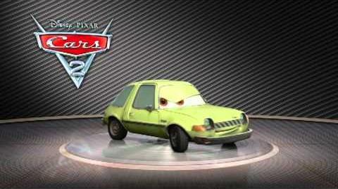 Disney Pixar CARS 2 - Acer turntable