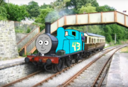 Strip Weathers the 43 cyan engine