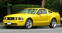 Ford Mustang GT coupe -- 07-30-2009