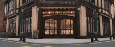 Ye left turn inn