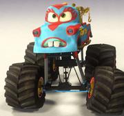 Mater monster truck mater new paint job