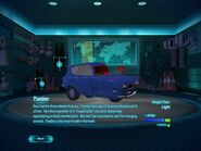 Tomber in cars 2 video game