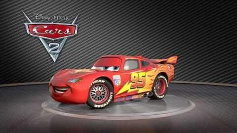 CARS 2 - Lightning McQueen - Disney Pixar - Owen Wilson - On Blu-ray & DVD & 3D Blu-ray NOVEMBER 9