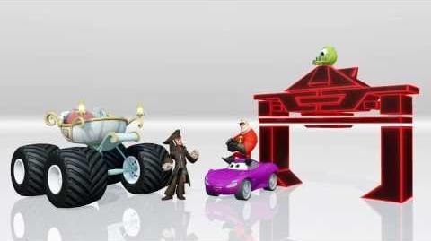 DISNEY INFINITY Toy Box Vehicles