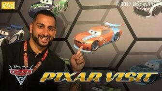 FINALLY! Recording My Cameo in Cars 3