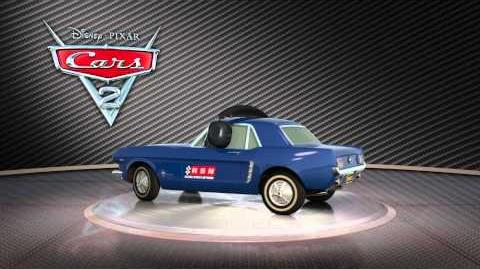 CARS 2 - Brent Mustangburger