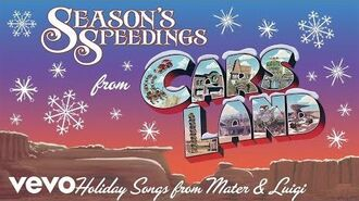 "Christmas in Radiator Springs (From ""Season's Speedings from Cars Land Holiday Songs f..."