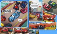 Cars Magazine N·23. comic 1- ninjas!