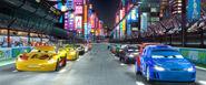 Cars 2 Japan Race