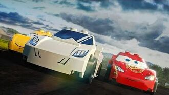 LEGO Stig vs Lightning McQueen Top Gear