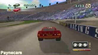 Cars The Video Game Alternate Ending