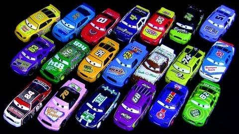 20 die-cast Racers from Cars Kmart Collector Event Kday Exclusive Disney Pixar