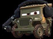 Cars 2 Sarge