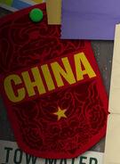 China card in cars 2 credits