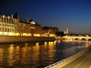 Seine by Eiffel