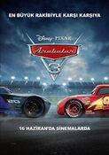 Cars-3 Turkish Poster