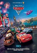 Cars-2 Sweden Poster