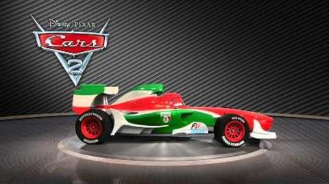 L'Italia al Gran Premio di CARS 2! Francesco Bernoulli turntable