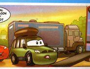 Cars Magazine N·25. comic 1,