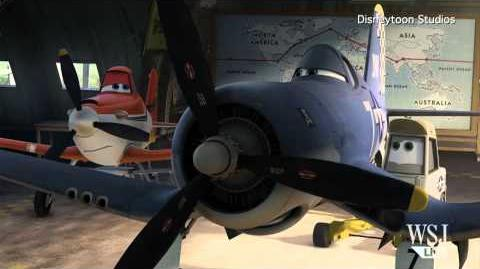 """Planes"" Movie Clip Disneytoon's 3D Animated ""Planes"" Exclusive ""Planes"" Clips"