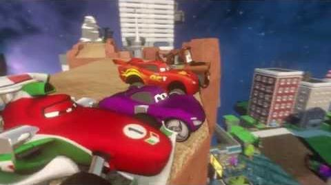DISNEY INFINITY Cars Play Set Trailer