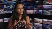 "Cars 3 ""Natalie Certain"" Kerry Washington Interview"