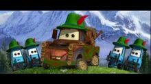 Disney Pixars CARS 2 - Jodelclip
