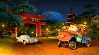 Carros 2 Escola de Espiões - Combate em Tóquio