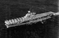 USS Enterprise (CV-6) underway c1939